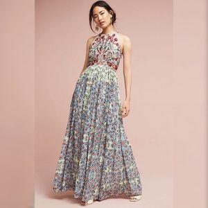 Anthropologie Bhanuni  Adelise Beaded Dress